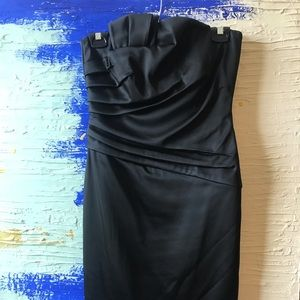 Black House White Market fitted cocktail dress